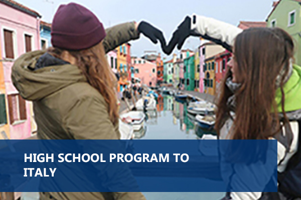 HIGH SCHOOL PROGRAM TO Italy